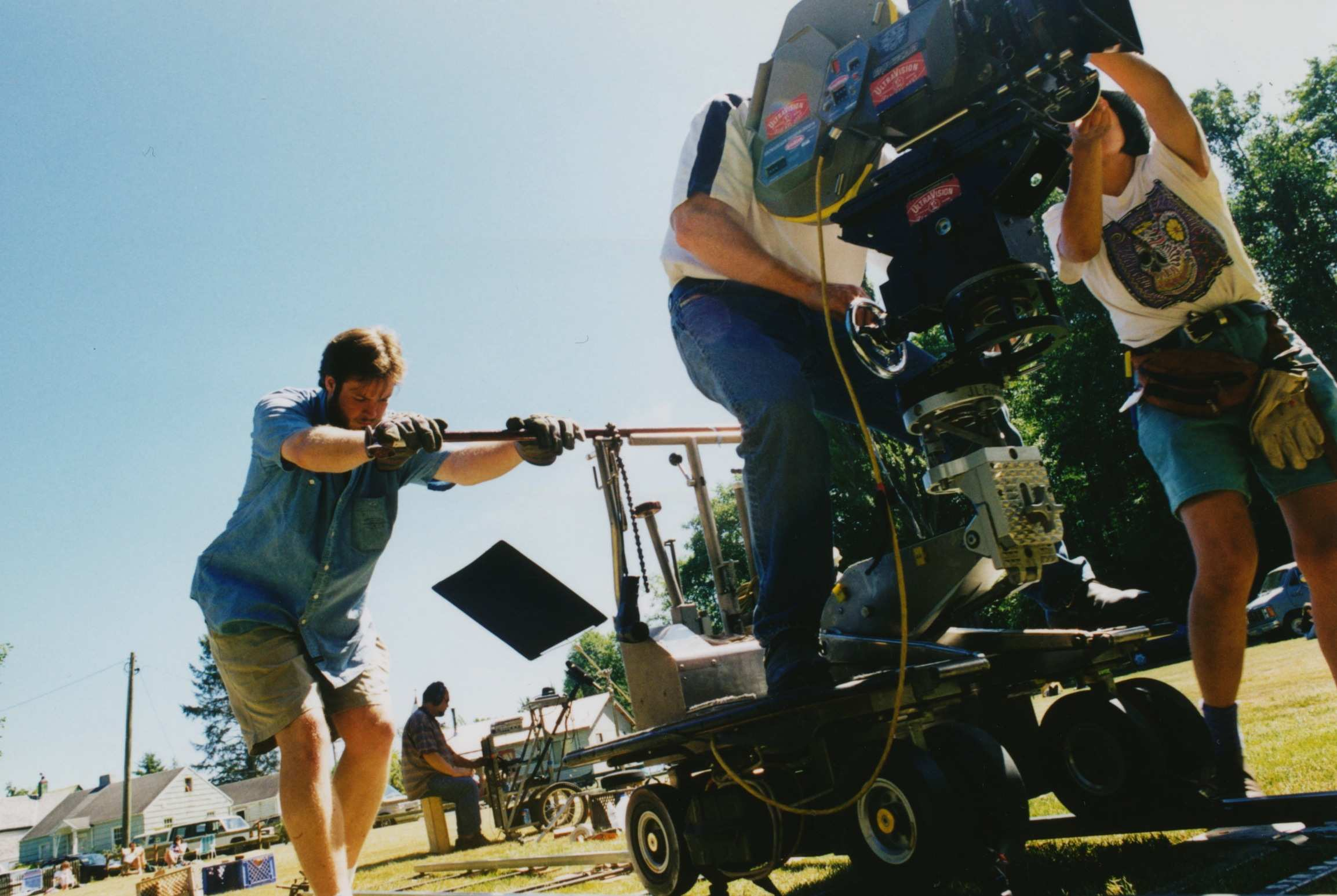 Dolly grip w track